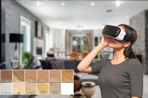 3DCG VRカラーシミュレーション